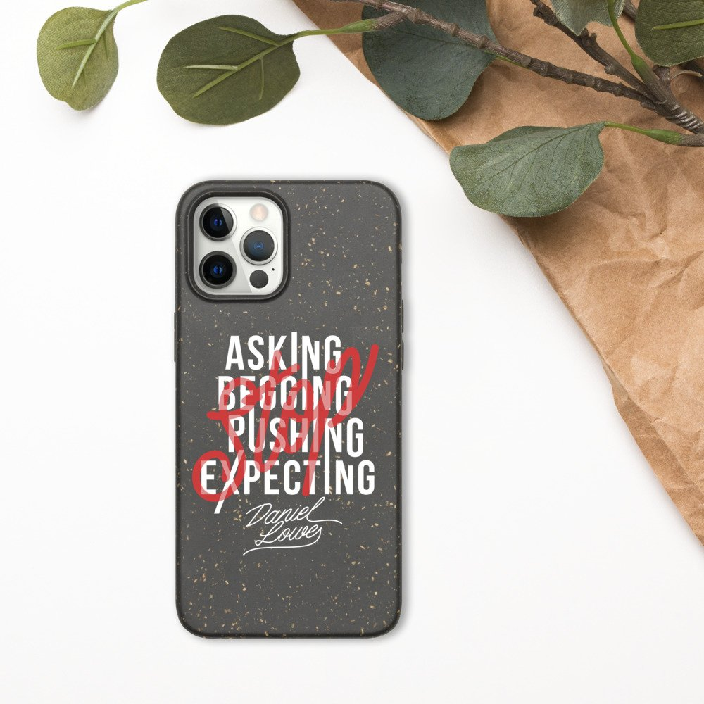 """Stop"" Biodegradable Phone Case"